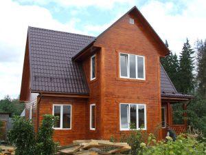 Деревянные дома из бруса в фото