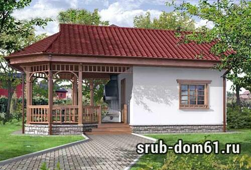 Проект Уютная загородная баня