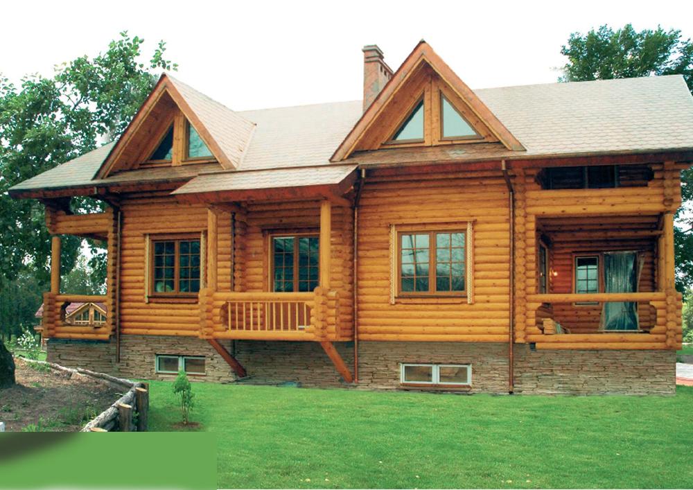 Калиброванные дома фото